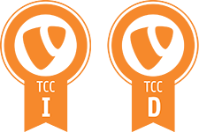 Certified TYPO3 CMS Integrator & Certied TYPO3 CMS Developer